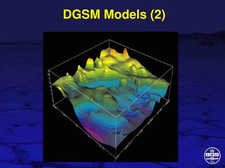 DGSM Models (2)