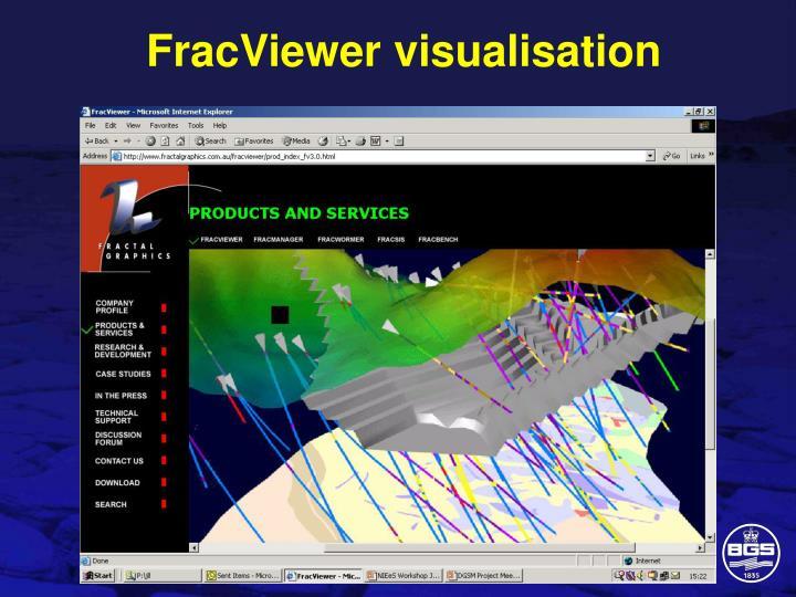 FracViewer visualisation