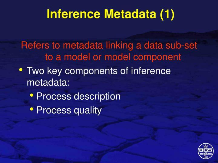 Inference Metadata (1)