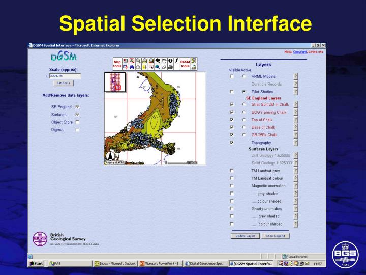 Spatial Selection Interface