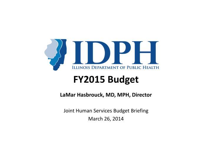 fy2015 budget n.