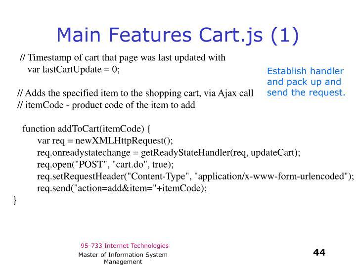 Main Features Cart.js (1)