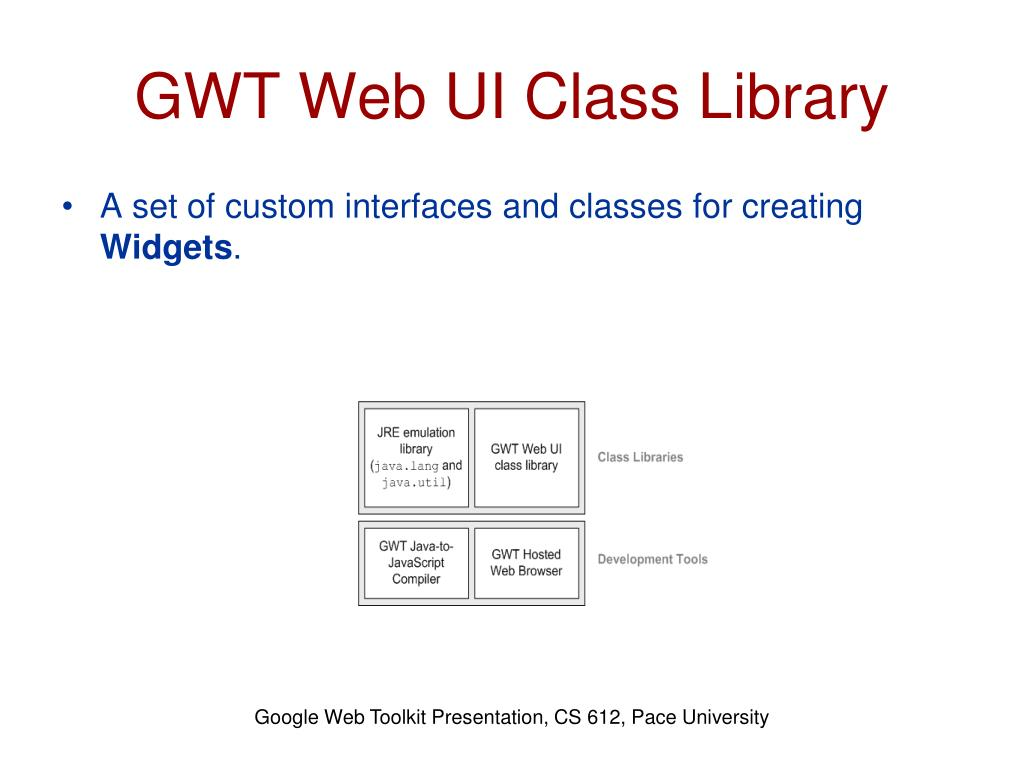 PPT - GWT Components & Features PowerPoint Presentation - ID