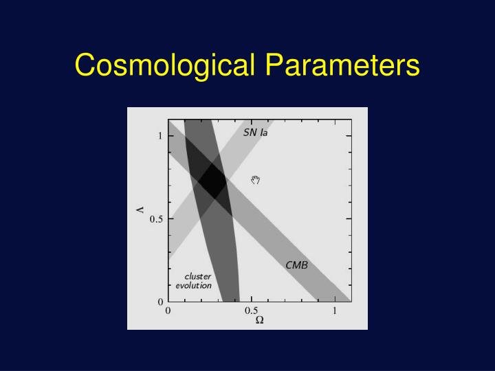 Cosmological Parameters