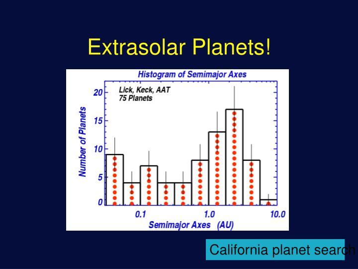 Extrasolar Planets!