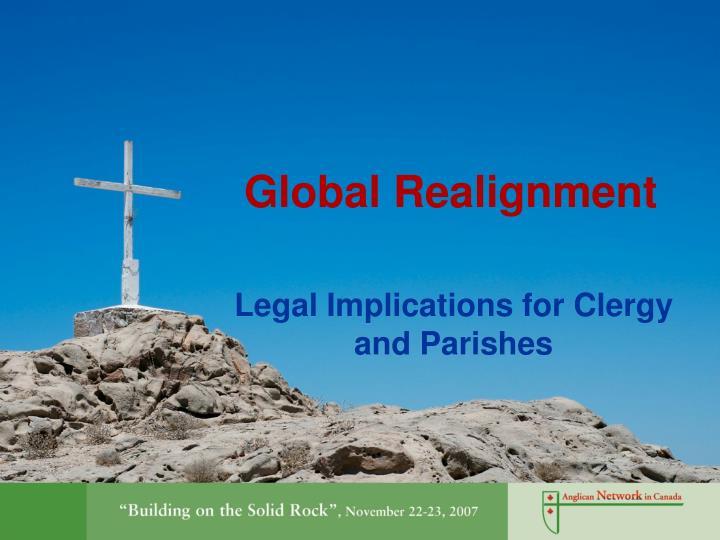 global realignment n.
