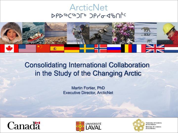 Consolidating International Collaboration
