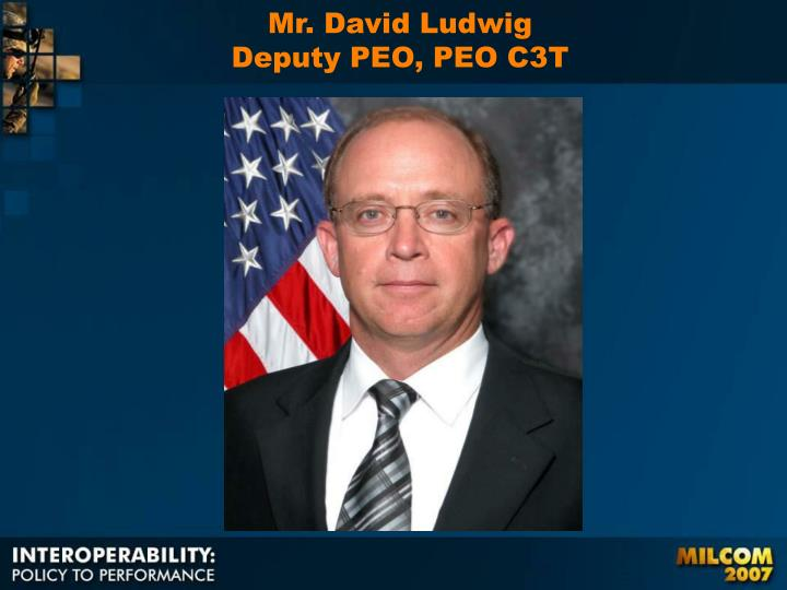 Mr. David Ludwig