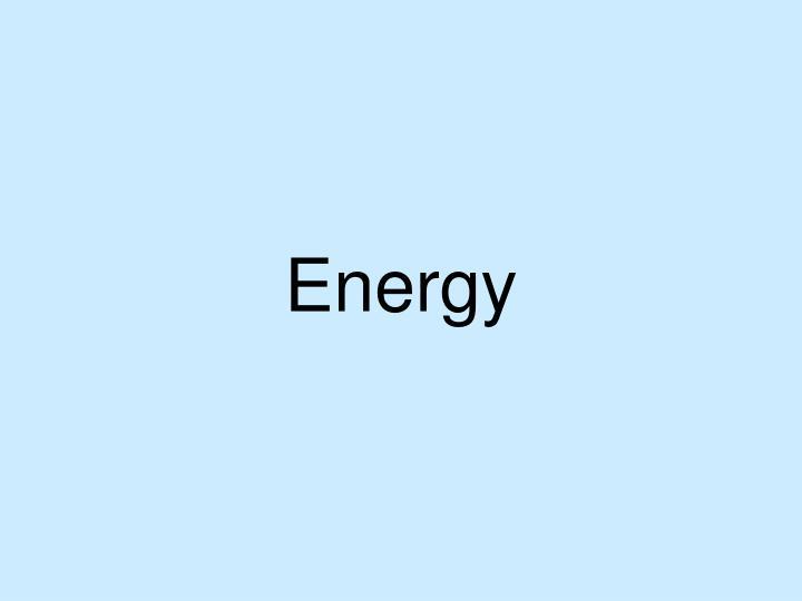 energy n.