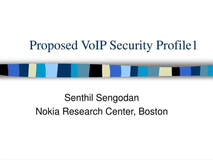 proposed voip security profile1 n.