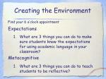 creating the environment1