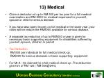 13 medical