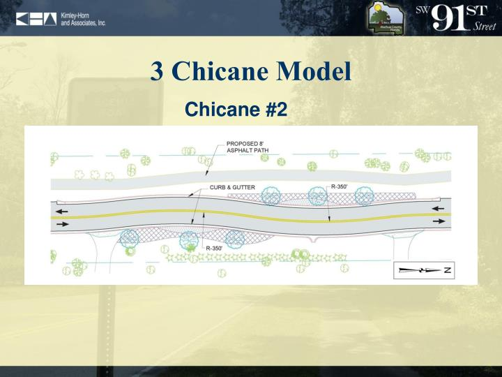 3 Chicane Model