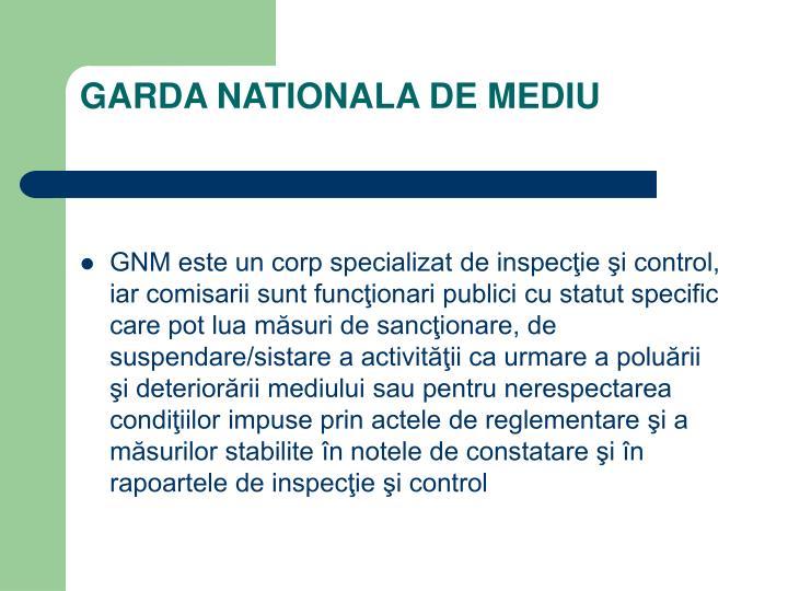 Garda nationala de mediu1