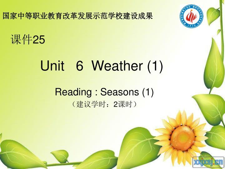 unit 6 weather 1 n.