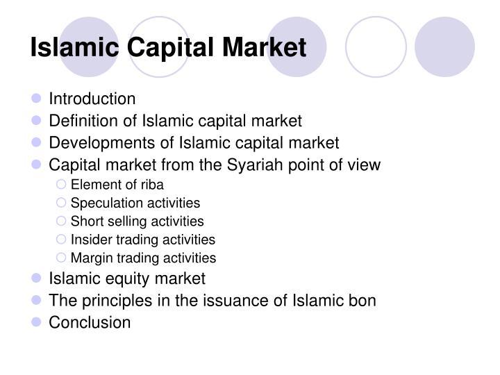 islamic capital market n.
