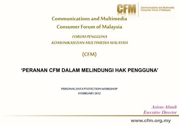 Communications and Multimedia