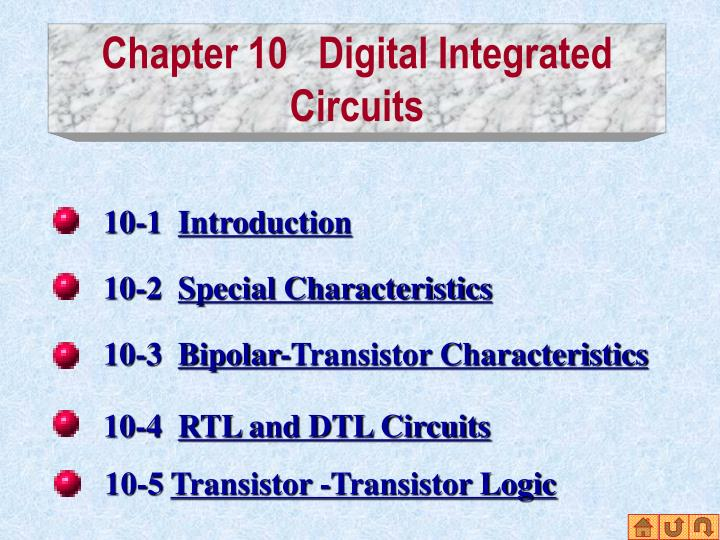chapter 10 digital integrated circuits n.