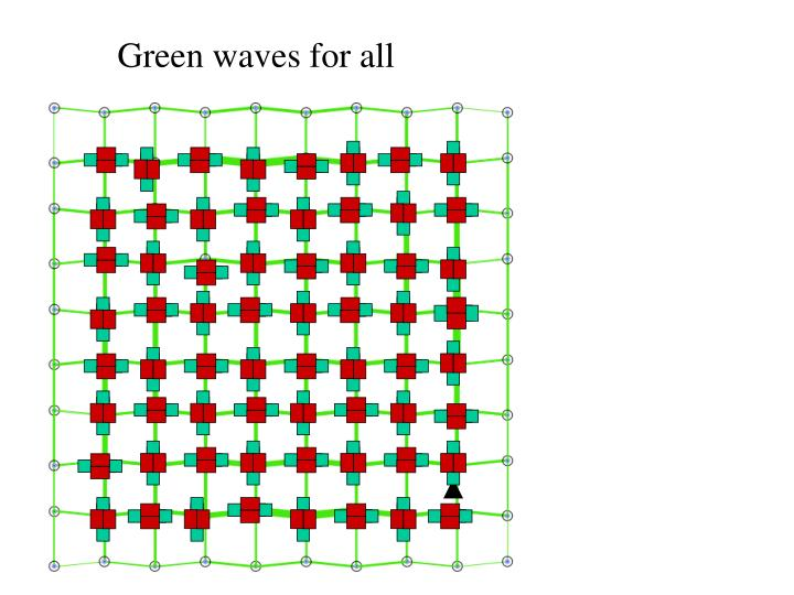 Green waves for all