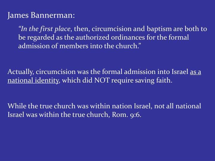 James Bannerman: