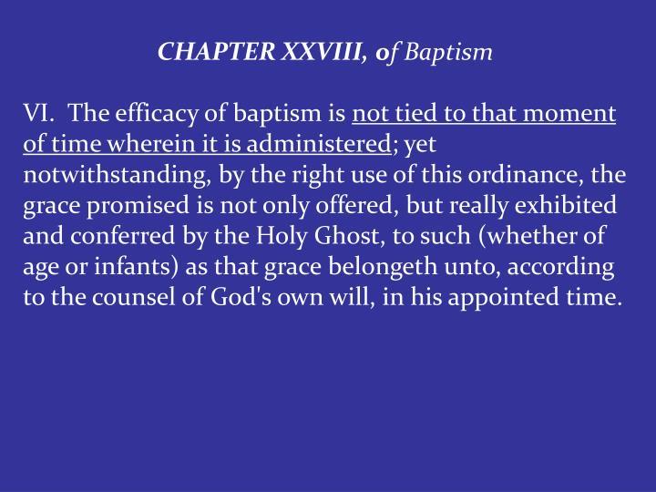 CHAPTER XXVIII, o