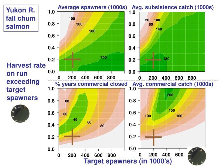 Average spawners (1000s)