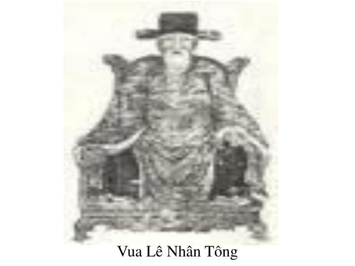 Vua Lê Nhân Tông