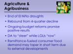 agriculture agribusiness