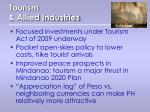 tourism allied industries