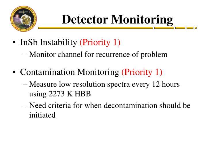 Detector Monitoring