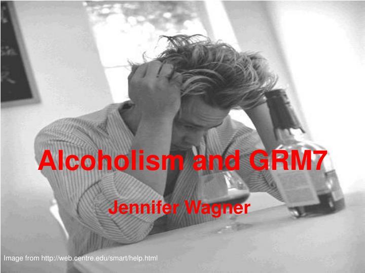 alcoholism and grm7 n.