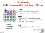 introduction field programmable gate array fpga