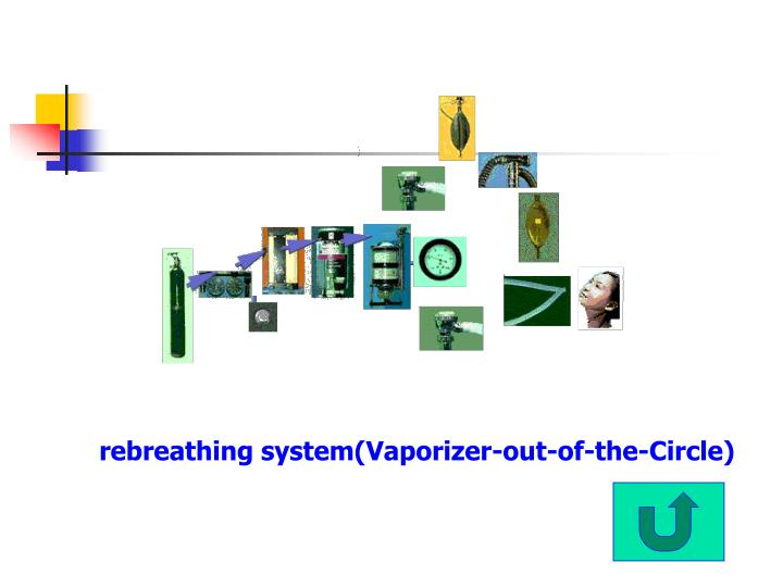 rebreathing system(Vaporizer-out-of-the-Circle)