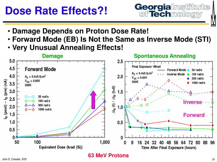 Dose Rate Effects?!