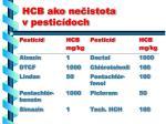 hcb ako ne istota v pestic doch