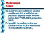 metalurgia hlin k