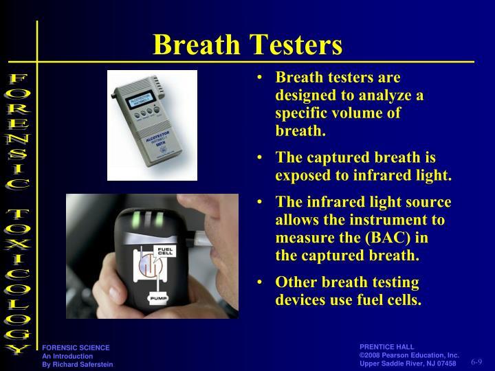 Breath Testers