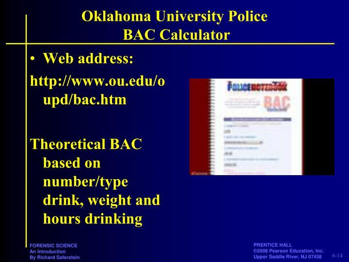 Oklahoma University Police