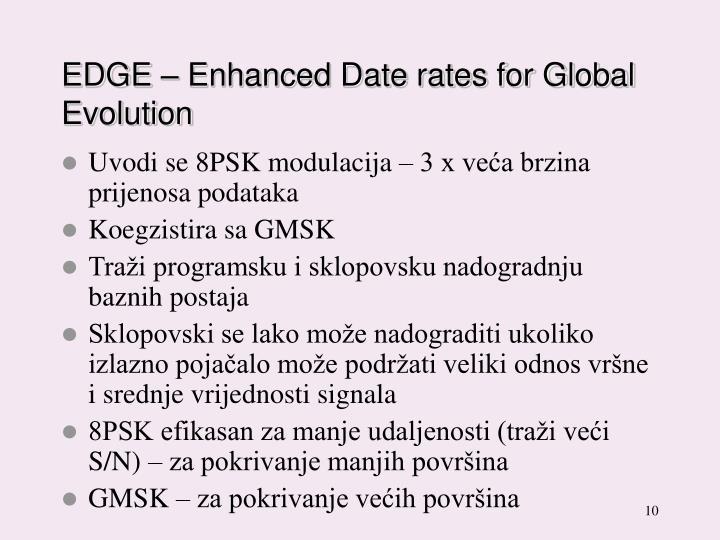 EDGE – Enhanced Date rates for Global Evolution