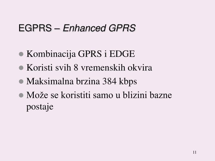 EGPRS –