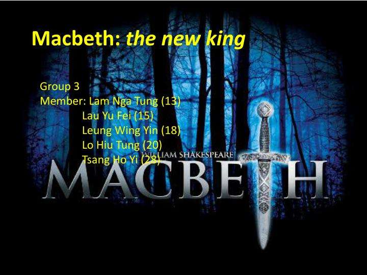 macbeth the new king n.