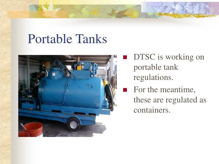 Portable Tanks