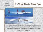 7 virgin atlantic global flyer