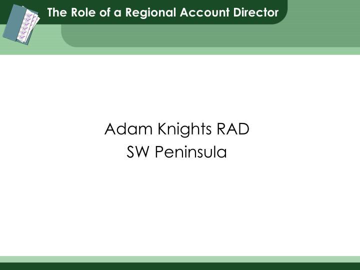 adam knights rad sw peninsula n.