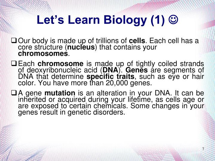 Let's Learn Biology (1)