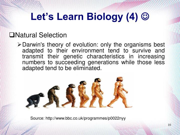 Let's Learn Biology (4)