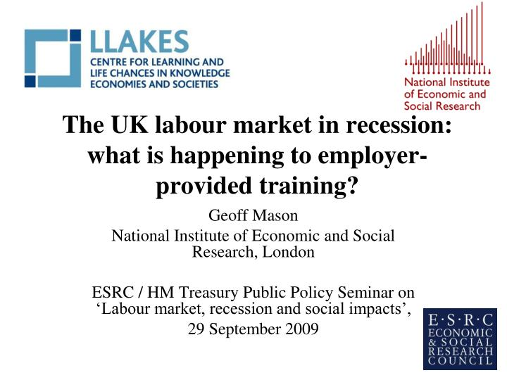 london and uk labour market Events how would brexit impact the uk labour market join us for a panel event debating the effect that free movement across europe has had on uk employers' abilities to secure the best talent and the potential consequences for employers of leaving the eu.