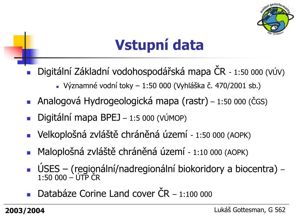 Ppt Vyuziti Gis Pro Analyzu Rizik Produktovodni Site Cepro A S