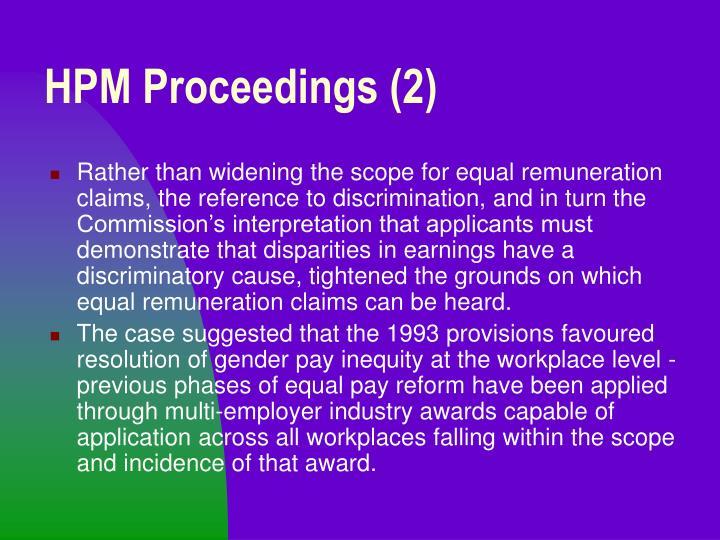 HPM Proceedings (2)