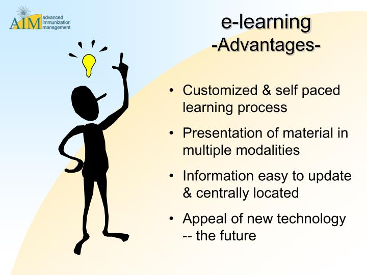 Customized & self paced learning process